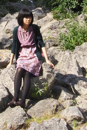 dress - Topshop top - shoes