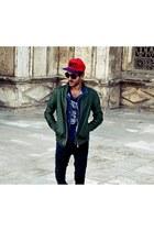 Bull&Pear jeans - Bershka jacket
