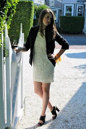 off white 31 Phillip Lim dress - black Sparkle and Fade blazer - black Moschino