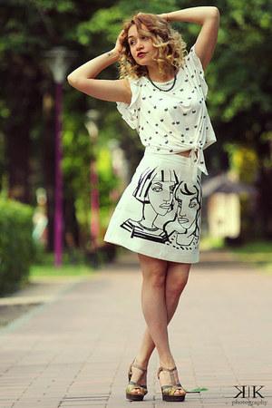 Oasapcom skirt - OASAP top