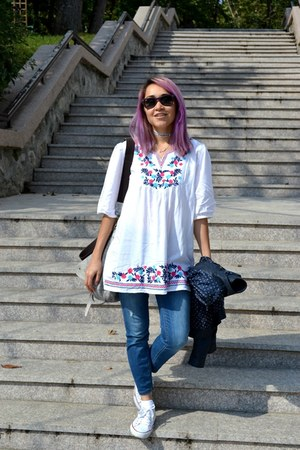 Converse shoes - ZNU dress