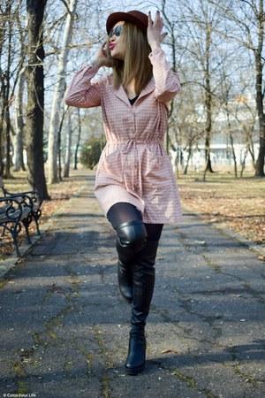 bubble gum Rosegal dress