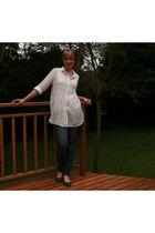 meltz blouse - Kelso jeans - Euro Art shoes