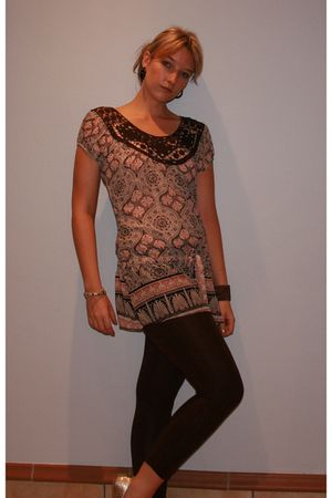 Excite top - Mr Price leggings - unknown shoes - Claires accessories