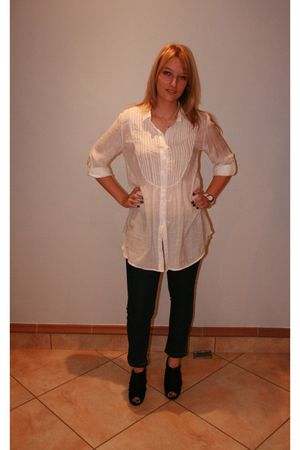 Excite blouse - Kelso leggings - project shoes
