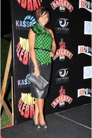 Kikis Fashion dress - Aldo shoes - Aldo bag