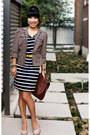 Beige-marco-santi-shoes-navy-loft-dress