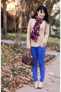 Camel-patent-mossimo-shoes-camel-turtleneck-gap-sweater-navy-h-m-scarf