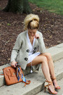 White-jag-jeans-dress-navy-hermes-scarf-bronze-street-level-bag
