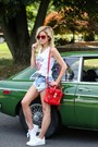 Red-31-phillip-lim-bag-blue-somedays-lovin-shorts-red-ray-ban-sunglasses