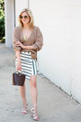 Camel-missguided-sweater-dark-brown-zara-bag-white-missguided-skirt