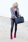 Crimson-charlotte-russe-boots-black-make-me-chic-blazer-black-kate-spade-bag