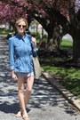 Blue-coffee-shop-coats-coat-blue-gucci-bag-sunglasses-sunglasses