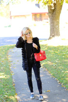 black Silver Jeans jeans - red 31 Phillip Lim bag