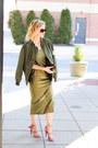 Army-green-sheinside-dress-army-green-sheinside-coat