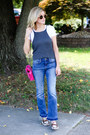 Blue-sp-black-label-jeans-hot-pink-stella-mccartney-bag-white-gucci-flats