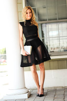 black Kora Rae skirt - heather gray Prima Donna bag - black BP sunglasses