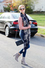Gray-forever-21-boots-navy-sts-blue-jeans-navy-chanel-bag