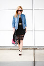 Black-band-of-gypsies-dress-blue-french-connection-jacket