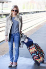 Camel-jag-jeans-jacket-heather-gray-nordstrom-sweater-navy-longchamp-bag