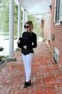 White-kiind-of-jeans-black-topshop-shirt-black-topshop-shirt