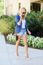 Blue-sheinside-blazer-black-topshop-bag-light-blue-somedays-lovin-shorts