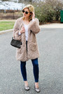 Neutral-lark-coat-navy-paige-denim-jeans-dark-brown-fendi-bag