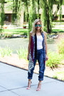Navy-silver-jeans-co-jeans-white-qupid-heels