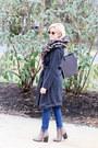 Light-brown-beast-fashion-boots-dark-gray-hillary-radley-coat