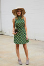 Dark-khaki-chinese-laundry-boots-dark-green-topshop-dress-nude-kittenish-hat