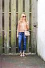 Blue-jag-jeans-jeans-pink-lc-lauren-conrad-sweater-light-pink-balenciaga-bag
