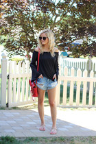 see blair bracelet - 31 Phillip Lim bag - Somedays Lovin shorts