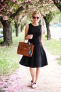 Black-maggy-london-dress-bronze-street-level-bag-nude-sam-edelman-sandals