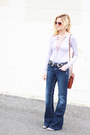 Heather-gray-forever-21-boots-navy-silver-jeans-co-jeans