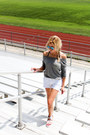 Heather-gray-victorias-secret-shirt-white-victorias-secret-shorts