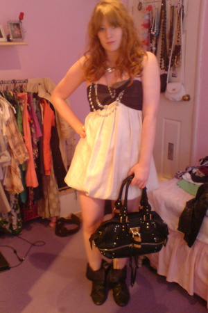 next dress - Chloe purse - Mix of vintage and high street accessories