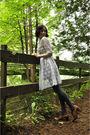 White-handmade-dress-gray-joe-fresh-style-tights-brown-naturalizer-shoes-s
