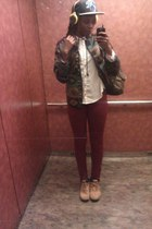 jourenys boots - Value Village blazer - Wet Seal pants - Forever21 blouse