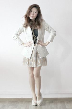 wonder blazer - skirt Topshop skirt