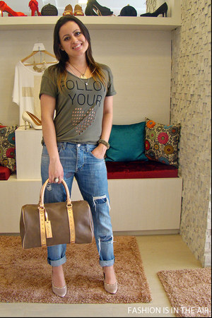 Zara jeans - Crisdoor shoes - Crisdoor purse - Zara t-shirt