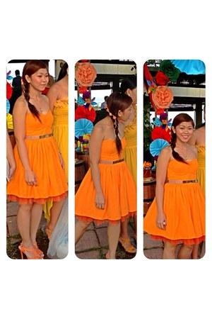 orange Accessorize hair accessory