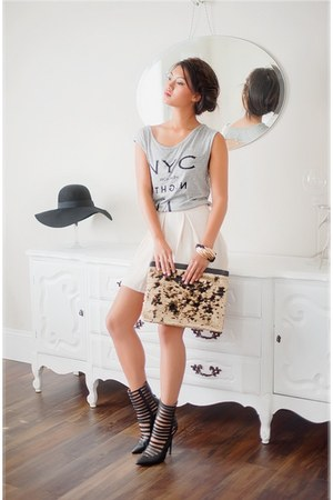 ankle boots Lulus boots - sequin clutch Lulus bag