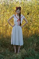 white Visions dress