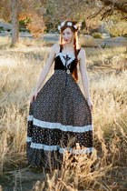 navy Gunne Sax dress