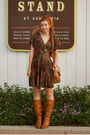 Brown-all-that-jazz-dress