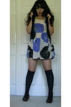 dress - socks - vest