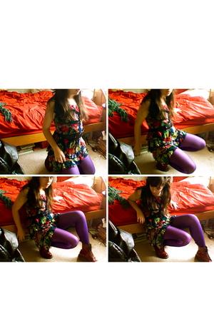 Target dress - Target tights - tights