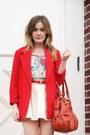 Red-vintage-blazer-ivory-forever-21-skirt-teal-forever21-blouse-tan-dolce-