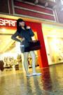 Thrifted-shoes-longchamp-bag-giordano-shorts-cotton-on-belt