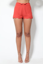 Lola Scallop Shorts